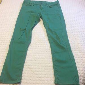 Green Mavi skinny pants